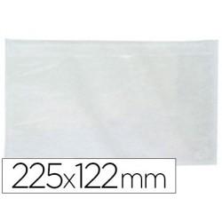 Sobres envío 225x122mm transparente 100u.
