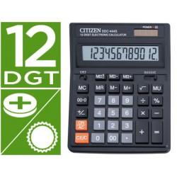 Calculadora Citizen sobremesa SDC-444S 12 dígitos