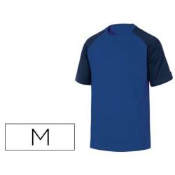 Samarreta de cotó Deltaplus blau talla M