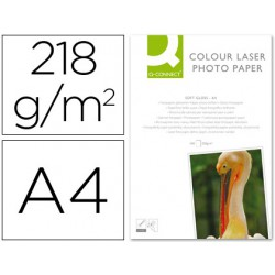 Papel foto glossy A4 100 hojas 218gr