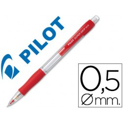 Portaminas Pilot supergrip 0,5mm rojo