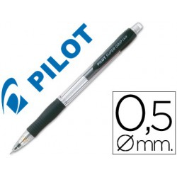Portaminas Pilot supergrip 0,5mm Negro