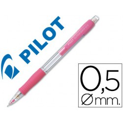 Portaminas Pilot supergrip 0,5mm rosa