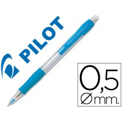 Portaminas Pilot supergrip 0,5mm celeste