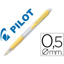 Portaminas Pilot supergrip 0,5mm amarillo