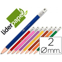 Portaminas Liderpapel 2mm colores surtidos