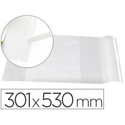 Forra-libros PVC ajustable nº30 301x530mm