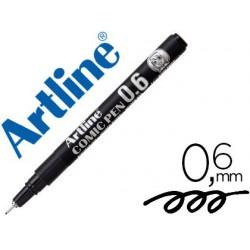 Retolador Artline calibrat micromètric negre còmic pen ek-286 0,6mm