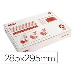 Forralibro Apli PVC ajustable 285x295mm 100u.