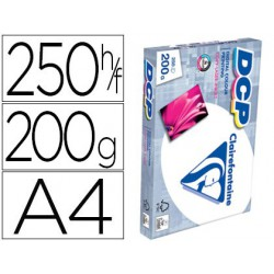 Papel Clariefontaine A4 200gr. 250 hojas
