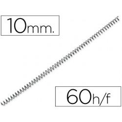 Espiral metàl·lic negre 64 5: 1 10mm 200u.