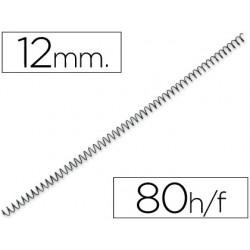 Espiral metàl·lic negre 64 5: 1 12mm 200u.