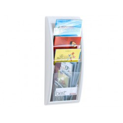 Expositor Quick fit A4 caselles blanc