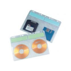 Funda para CD con taladros 10u.