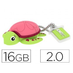 Memoria USB emtec flash 16 gb 2.0 tortuga