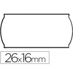 Etiquetas Meto onduladas 26x16mm blanca adhojas 4 1200 etiquetas