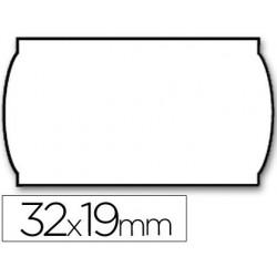Etiquetas Meto onduladas 32x19mm lisa removible bl. 1000 etiquetas