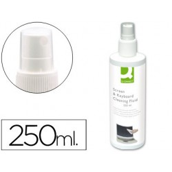Spray limpiador de pantallas y teclados 250 ml