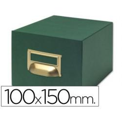 Fichero fichas tela verde 1000 fichas nº3 100x150mm