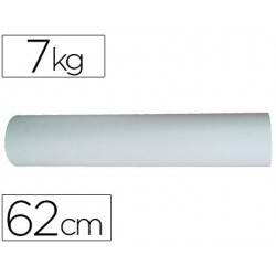 Papel blanco bobina de 62cm 7kg
