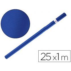 Papel kraft azul azurita turquesa 25x1mt