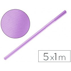 Papel kraft lila 5x1mt