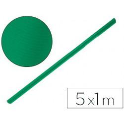 Papel kraft verde musgo 5x1mt