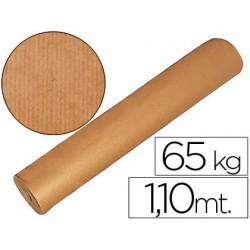 Papel kraft marrón bobina -1,10m.altura 60/65kg