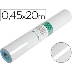 Rollo adhesivo Liderpapel transparente no removible 0,45x20mt