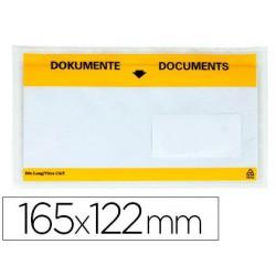"Sobres envío 165x122mm ""DOCUMENTS"" 100u."