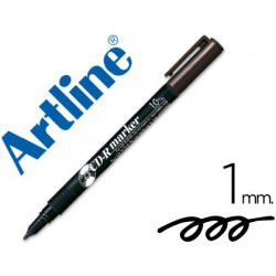 Retolador permanent CD Artline EK-884 negre