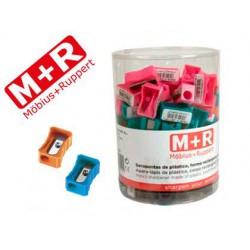 Maquineta plàstic M + R rectangular 100u.