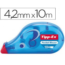 Cinta correctora Tippex Pocked mouse 4,2mmx10m