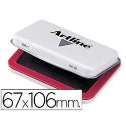 Tampon Artline nº1 rojo -67x106mm