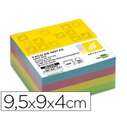 Taco papel 95x90x40mm color
