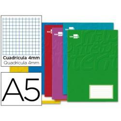 Libreta Write A5 32 hojas cuadro 4mm margen