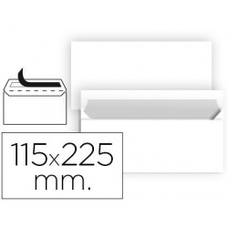 Sobre nº5 blanco americano 115x225mm ventana derecha 80gr 500u.