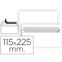 Sobre nº5 blanc americà 115x225mm tira de silicona 25u.