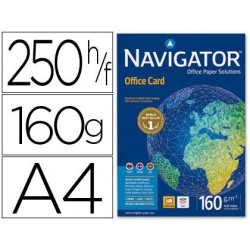 Paper multifunció Navigator Office Card A4 160gr. 250 fulls