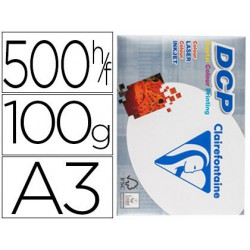Papel Clariefontaine A3 100gr. 500 hojas