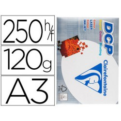 Papel Clariefontaine A3 120gr. 250 hojas