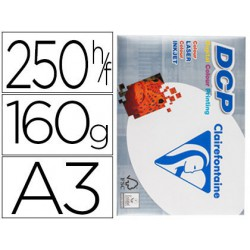 Papel Clariefontaine A3 160gr. 250 hojas