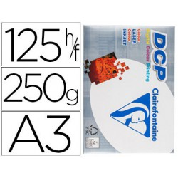 Papel Clariefontaine A3 250gr. 125 hojas