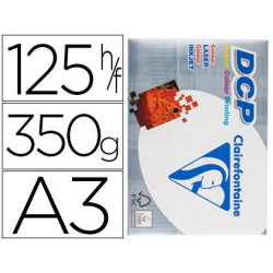 Papel Clariefontaine A3 350gr. 125 hojas