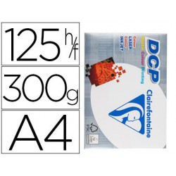 Papel Clariefontaine A4 300gr. 125 hojas