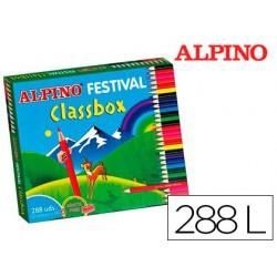 Estoig llapis Alpí Classbox 24x12 colors (288u.)