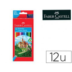 Estuche 12 Ecolápices Faber Castell Hexagonales