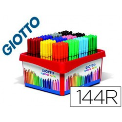Retolador Giotto Turbo SchoolPack 12x12 colors 144u.