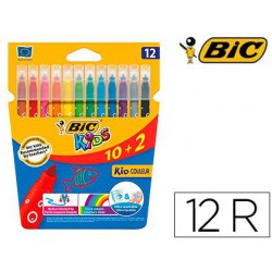 Rotulador Bic Kid Couleur 10+2u.