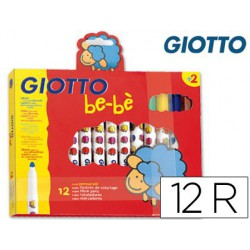 Retoladors Giotto Be-Be 12u.